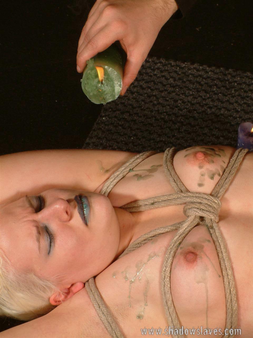 Bondage hot wax pics