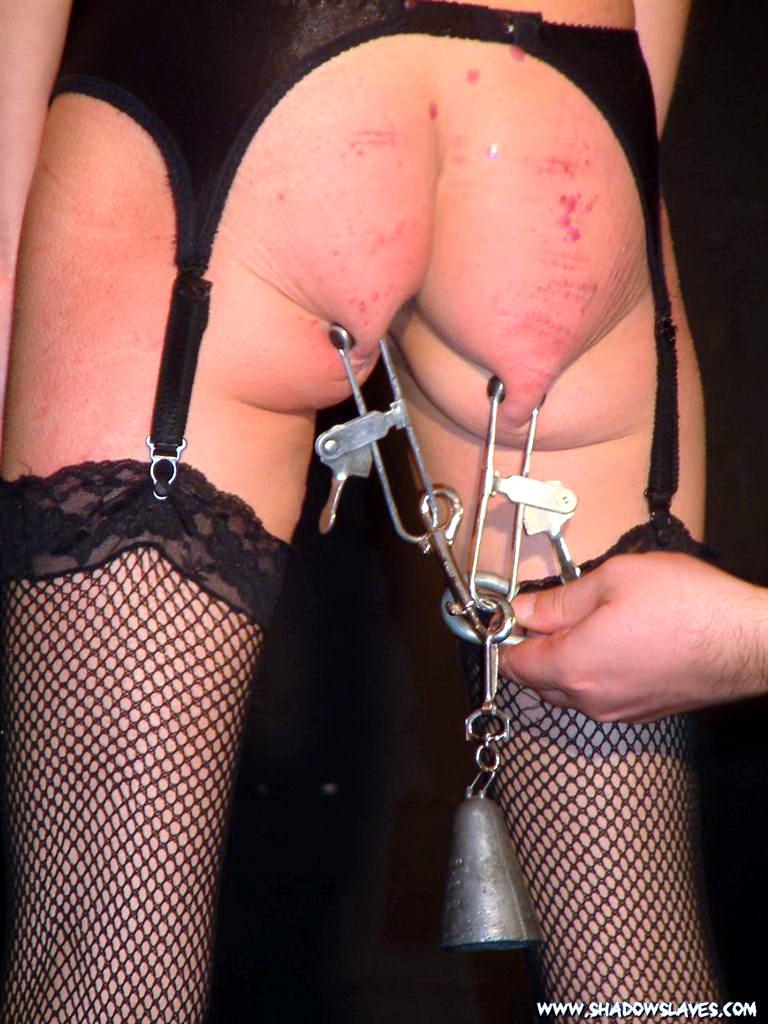 Girl On A Bondage Device Receives Extreme Pain BDSM Porn